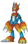 Flamedramon dm