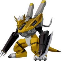 WarGrowlmon (Yellow) dwds