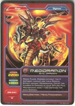 Megidramon DM-247 (DC)
