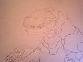 Fantasia tyrannosaurus rex by cryptonoah-d6i64rm