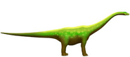 Diplodoco del treno dei dinosauri
