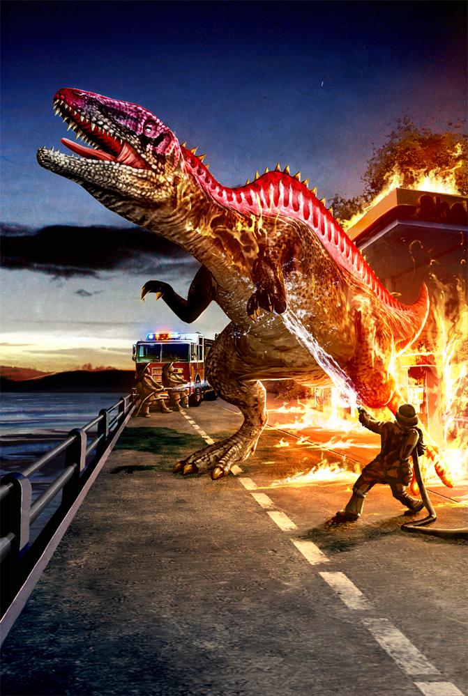 Archivo Dinosaur King Acrocanthosaurus Alpha Png