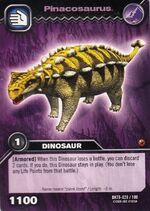 Pinacosaurus TCG Card