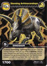Arrhinoceratops-Storming TCG Card (German)