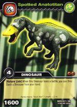 Anatotitan-Spotted TCG Card