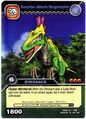 Megaraptor-Surprise Attack TCG Card 1-Silver 1b