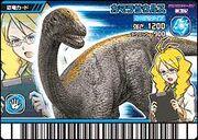 Camarasaurus card