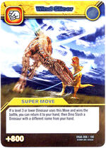 Wind Slicer TCG Card 1-Silver
