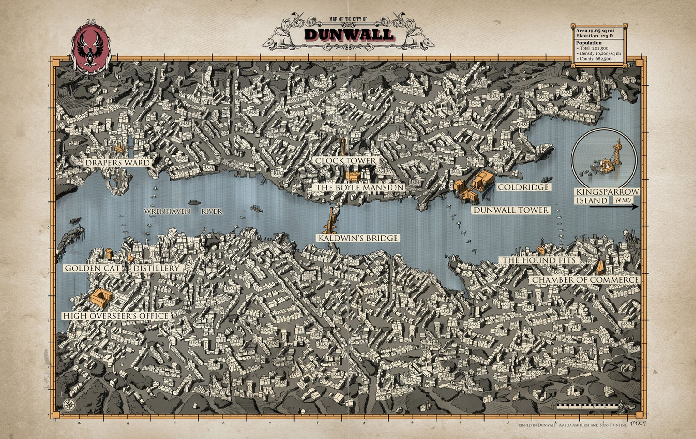 How Is Dunwall Oriented Dishonored