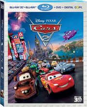Cars 2 Blu-Ray cover