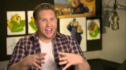 """Zootopia Zootropolis """"Clawhauser"""" Behind The Scenes Interview - Nate Torrence"""