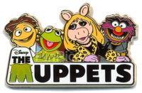 Disney store europe muppets pin
