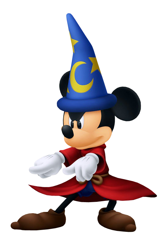 Sorcerer Mickey silhouette by WEDimagineer - Thingiverse