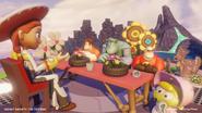 Tea Party with Jessie