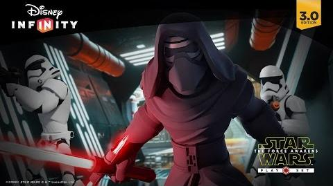 Star Wars The Force Awakens Play Set Official Trailer Disney Infinity 3