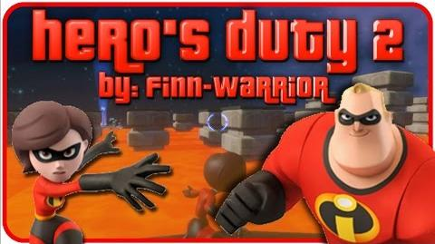 """Disney Infinity 1.0 Toy Box - Mrs. Incredible and Mr. Incredible - """"Hero's Duty 2"""" by Finn-Warrior"""