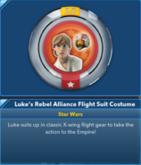 Luke's Rebel Alliance Flight Suit Costume 3.0