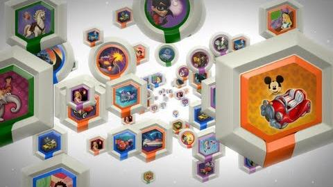 DISNEY INFINITY Power Discs