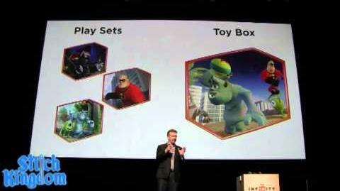 Disney Infinity Official Announcement with John Lasseter 3 4