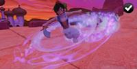Aladdin - Spinning Scimitar Attack
