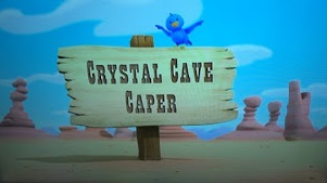 Crystal Cave Caper title card