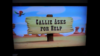 Callie Asks for Help titlecard