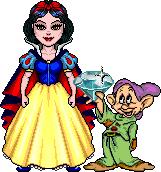 Princess SnowWhite and Dopey RichB