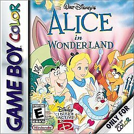Alice in Wonderland GBC
