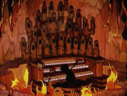 Devil Plays His Organ