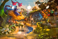 WDW-new-fantasyland - Alice 02