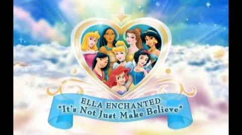 Disney Princess 'It's Not Just Make Believe'
