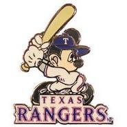Texas Rangers Pin