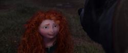 Merida reconciling with Elinor