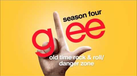 Old Time Rock & Roll Danger Zone - Glee HD Full Studio