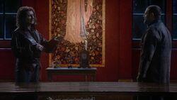 Once Upon a Time - 6x12 - Murder Most Foul - Rumplestiltskin and Robert