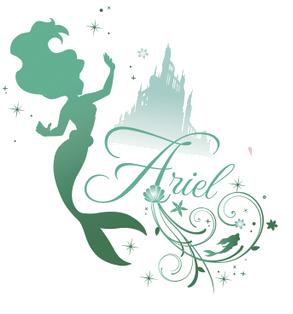 Image - Silhouette ariel.png | Disney Wiki | Fandom ...