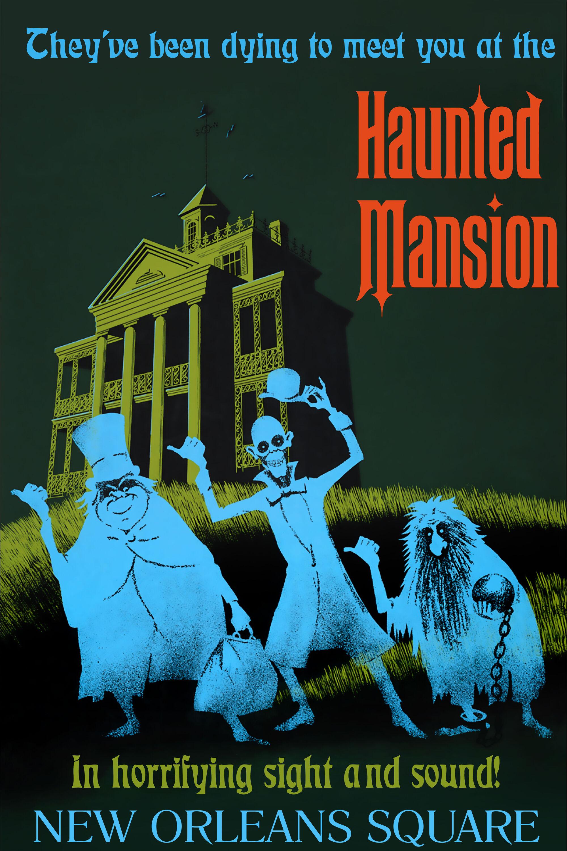 The Haunted Mansion Disneyland Disney Wiki Fandom