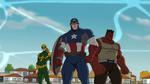 Captain America Iron Fist Red Hulk USMWW