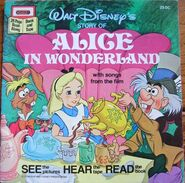 Alice in Wonderland Disney Read Along 1st Cassette