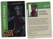 Hondo Rebels Card