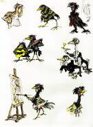 Chanticleer Assorted Birds
