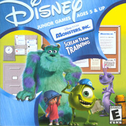 Monster's Inc. Scream Team Training
