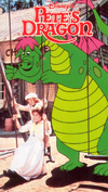 Pete's Dragon 1990 VHS Cover (better quality)