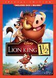 LionKing1andAHalf 2012 DVD combo