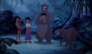 Mowgli is with all his friends