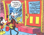 Mickey and goofy detective agency