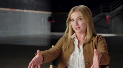 "Captain America Civil War Behind-The-Scenes ""Sharon Carter"" Interview - Emily VanCamp"