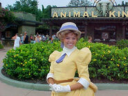 Jane Porter at the Animal Kingdom