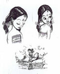The Jungle Book Shanti model sheet 03