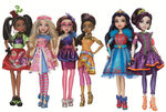 Descendants Neon Lights dolls